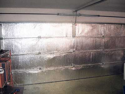 Reflective Garage Door Insulation Tempshield Garage Door